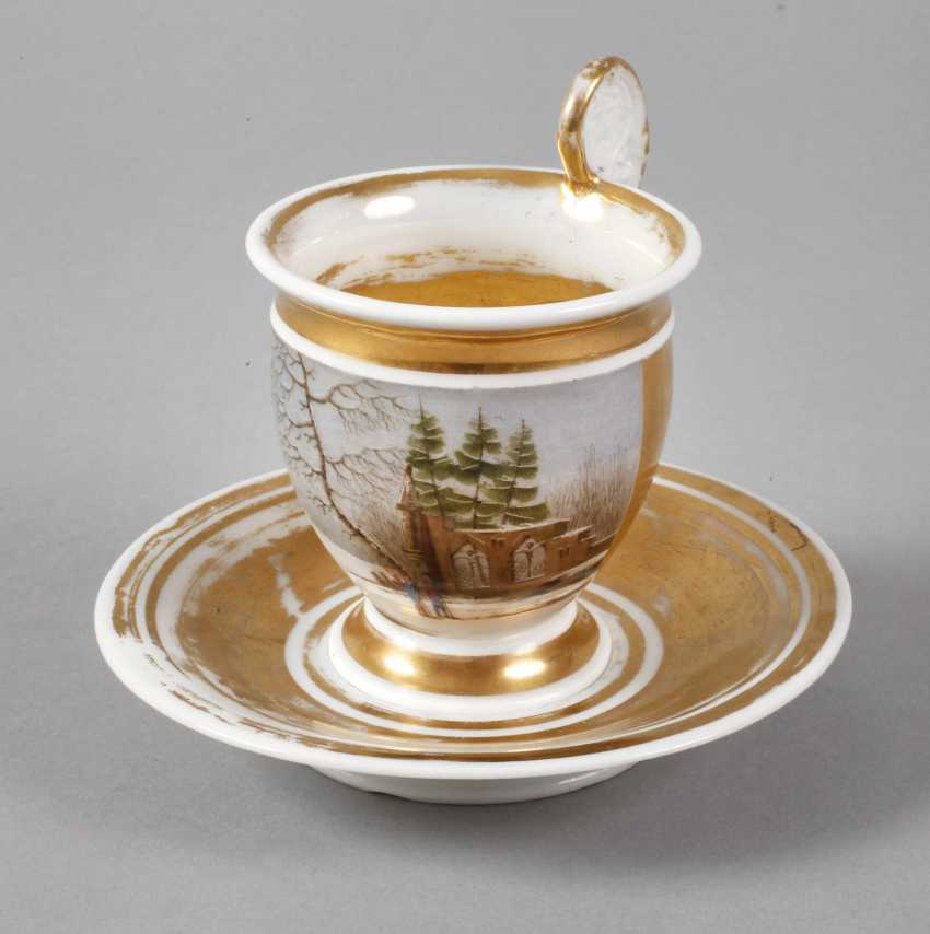 View Cup with winter landscape - photo 1