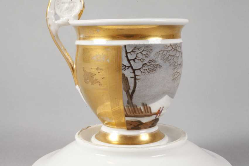 View Cup with winter landscape - photo 3
