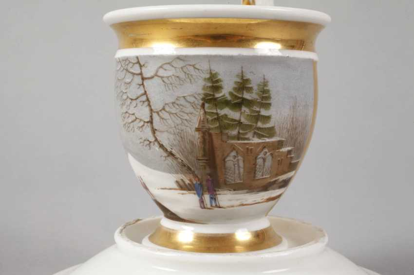 View Cup with winter landscape - photo 4