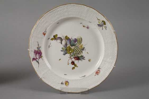 Frankenthal Pair Of Plate 18. Century - photo 2