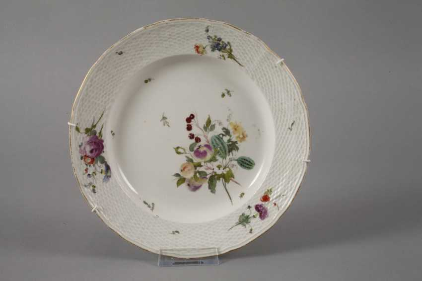 Frankenthal Pair Of Plate 18. Century - photo 3