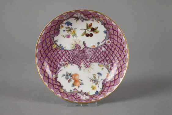 Meissen two saucers with shed decor - photo 2