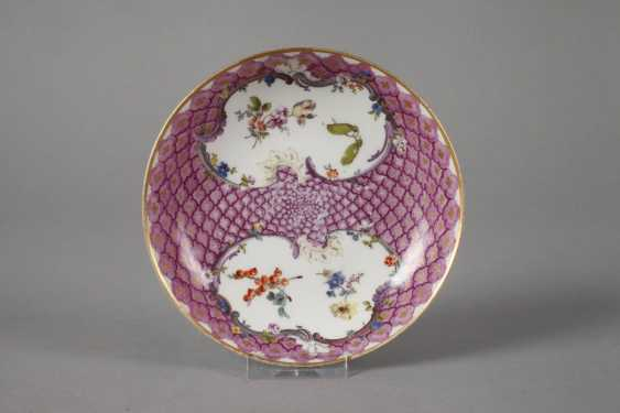 Meissen two saucers with shed decor - photo 3