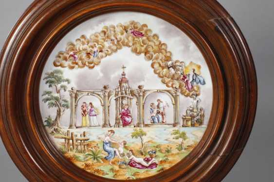 Large wall plate, Capodimonte style - photo 2