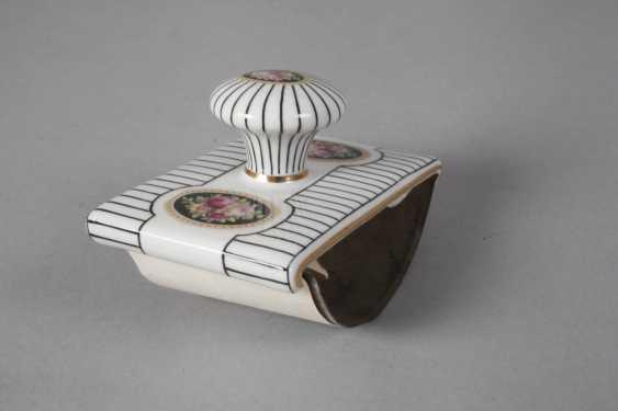 Heubach light two-piece writing set art Nouveau - photo 4