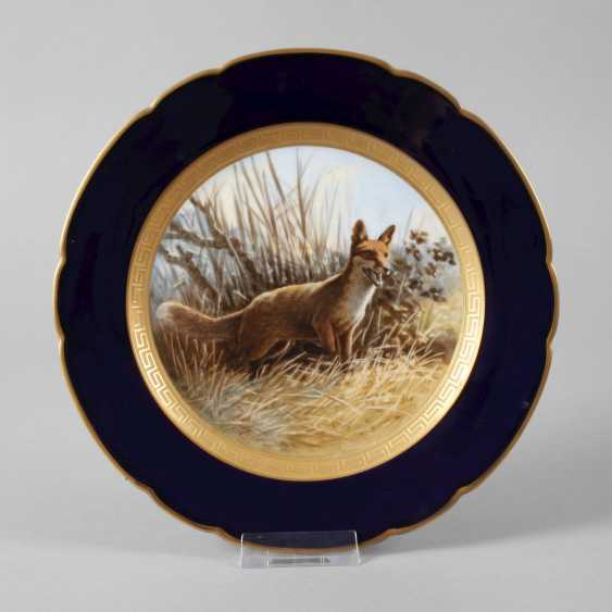 Hutschenreuther hunting plate with Fox motif - photo 1