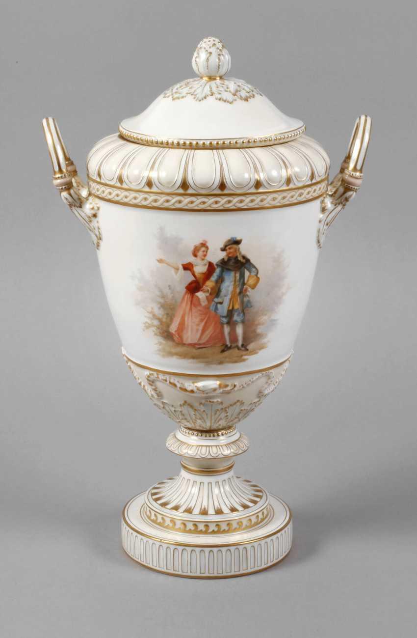 """KPM Berlin so-called """"Weimar Vase"""" - photo 1"""