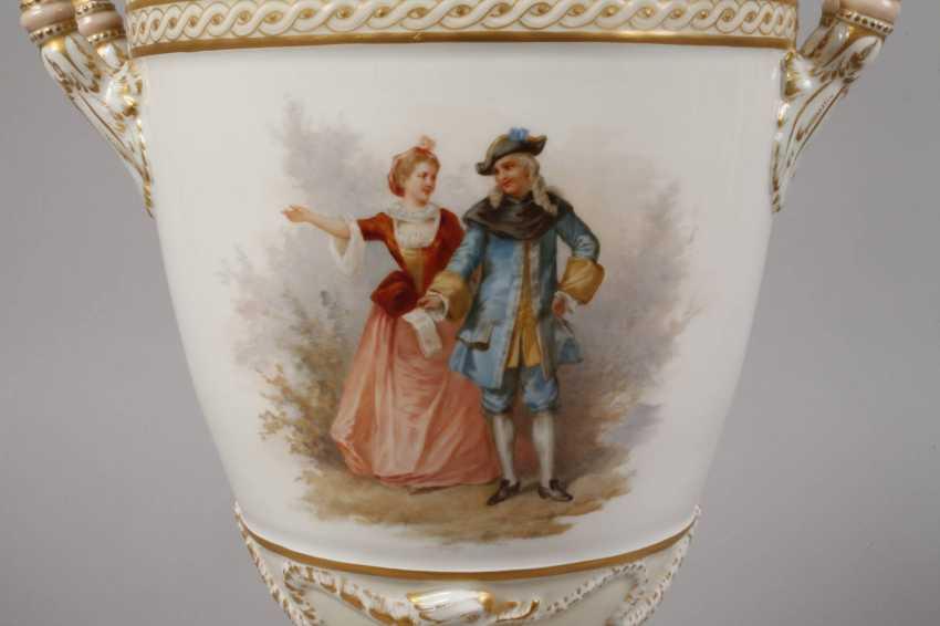 """KPM Berlin so-called """"Weimar Vase"""" - photo 2"""