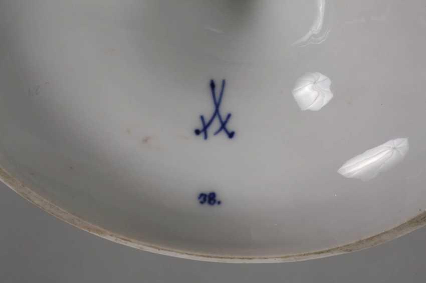 """Meissen Centrepiece """"Onion Pattern"""" - photo 4"""