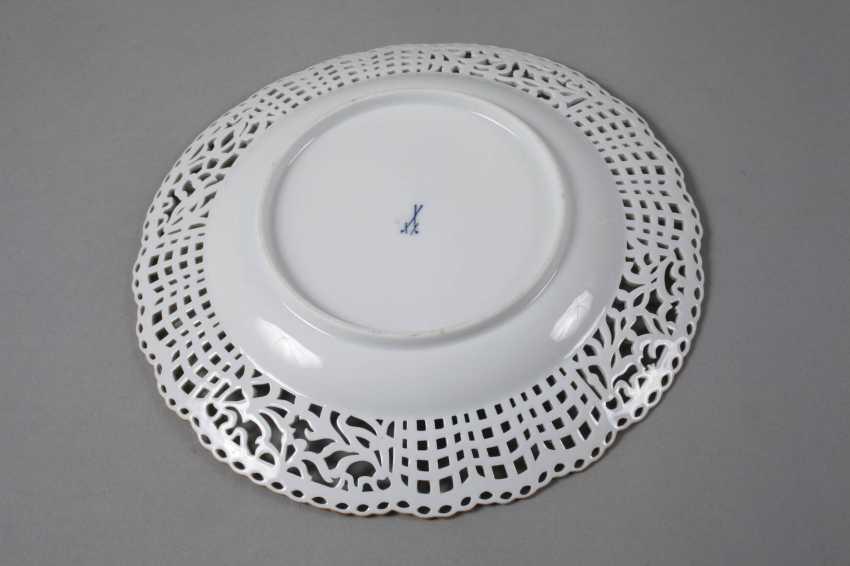 "Meissen Breakthrough Plate ""Flower 3"" - photo 3"