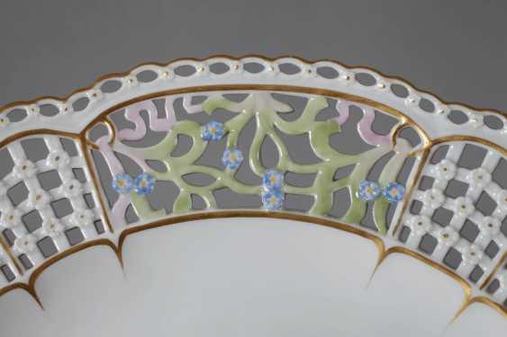 "Meissen Breakthrough Plate ""Flower 3"" - photo 4"