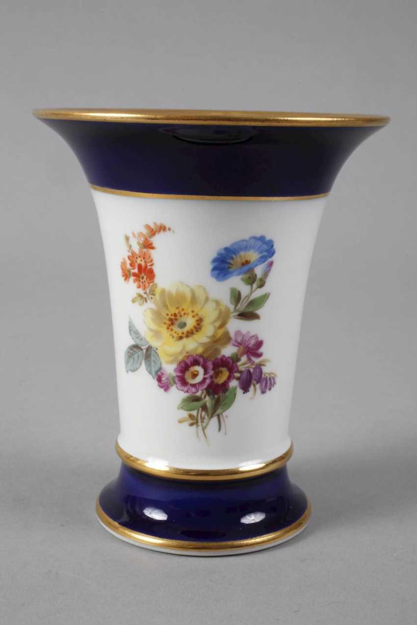 Meissen Funnel Vase - photo 2