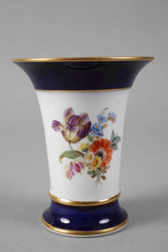 Meissen Funnel Vase - photo 3