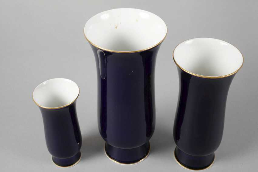 "Meissen three vases ""Amsterdam style"" - photo 3"