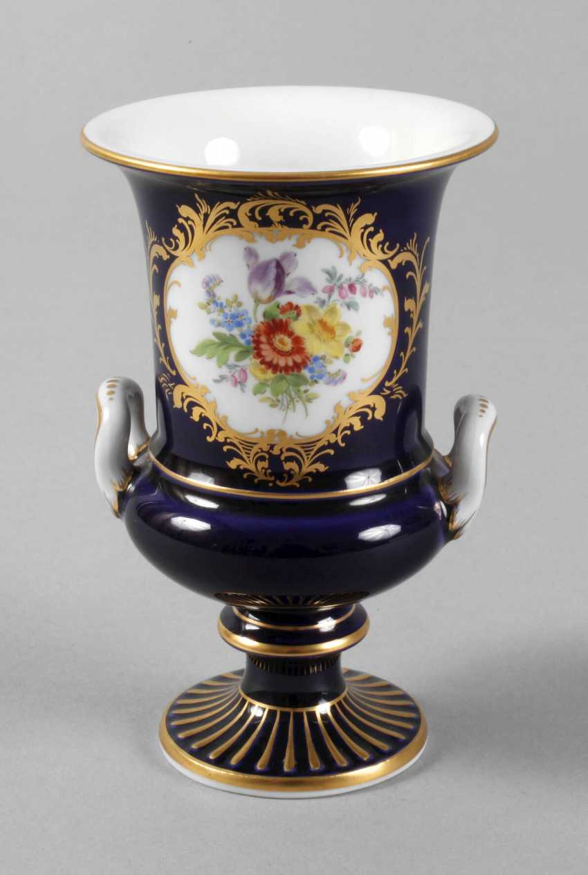 "Meissen small crater vase ""Amsterdam style"" - photo 1"