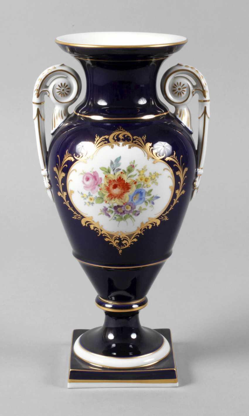 "Meissen Amphorae Vase ""Amsterdam Style"" - photo 1"