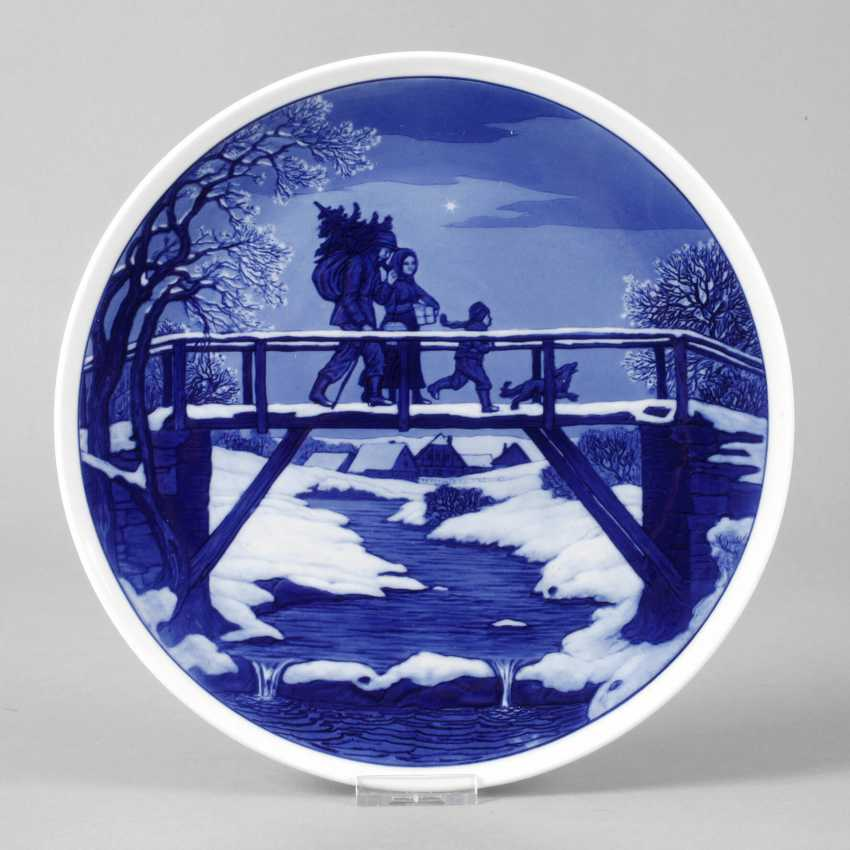 Meissen Christmas Plate - photo 1
