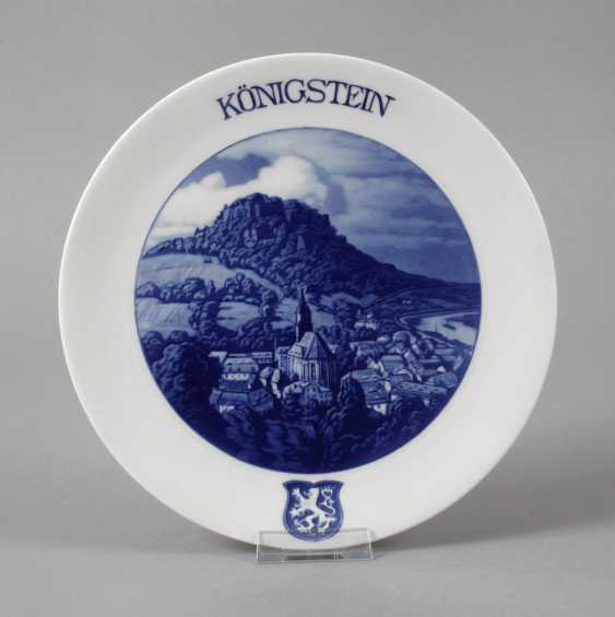 """Meissen View Plate """"King Stone"""" - photo 1"""
