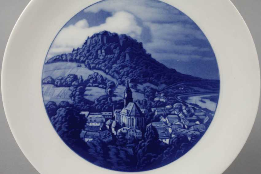 """Meissen View Plate """"King Stone"""" - photo 2"""
