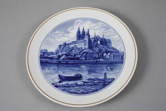 Meissen three view plates - photo 2