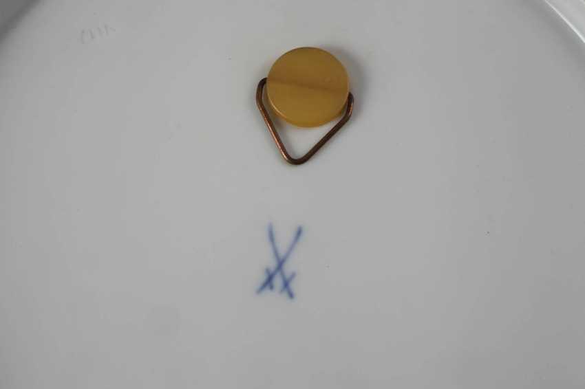 Meissen three view plates - photo 3