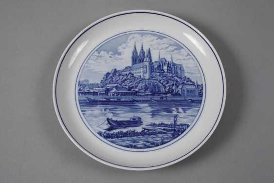 Meissen three view plates - photo 4