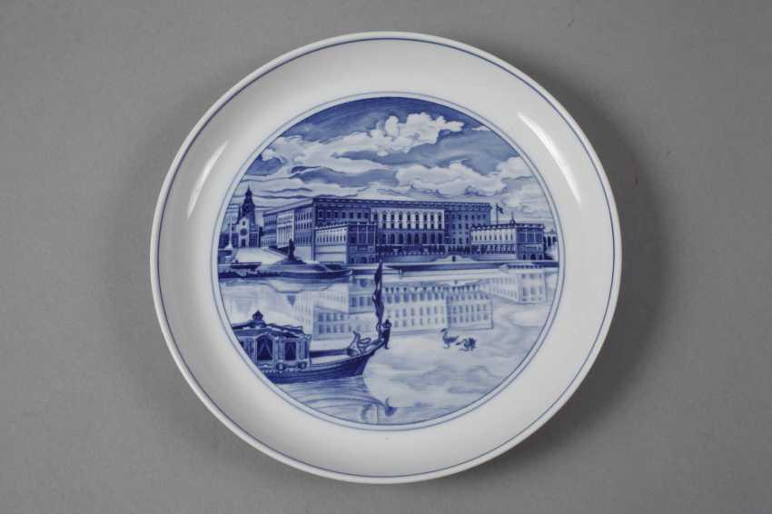 Meissen three view plates - photo 6