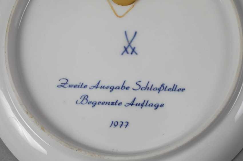 Meissen three view plates - photo 7
