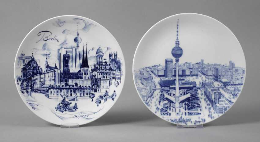 Meissen two-view plate Berlin - photo 1