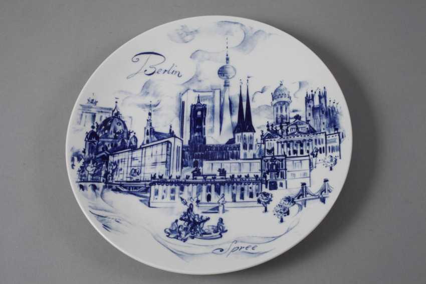 Meissen two-view plate Berlin - photo 2