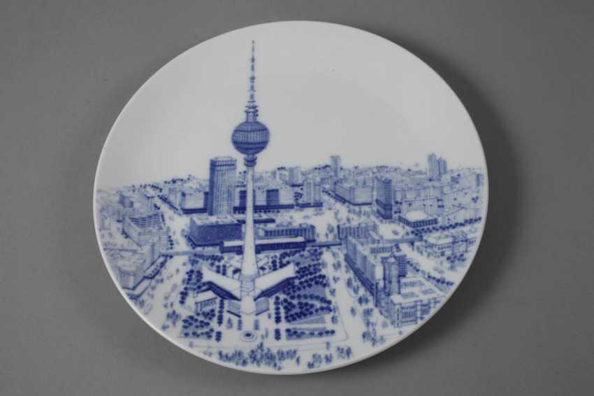 Meissen two-view plate Berlin - photo 4