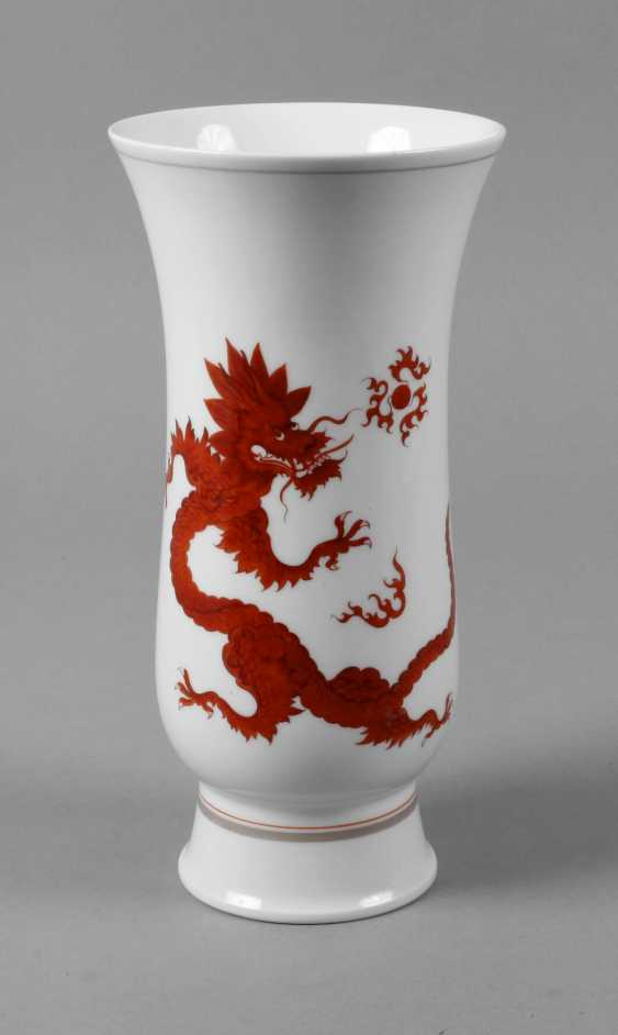 "Meissen Vase with ""Mingdrache"" - photo 1"