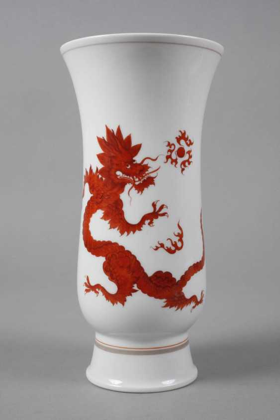 "Meissen Vase with ""Mingdrache"" - photo 2"