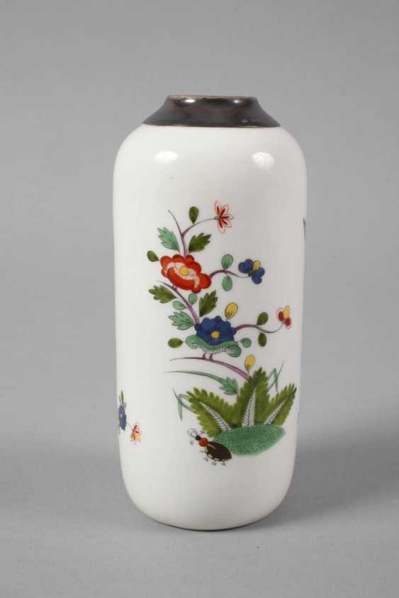 Meissen Vase with silver mount - photo 3