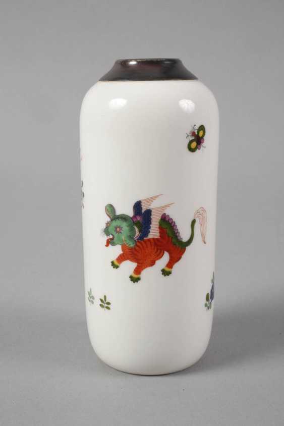 Meissen Vase with silver mount - photo 4