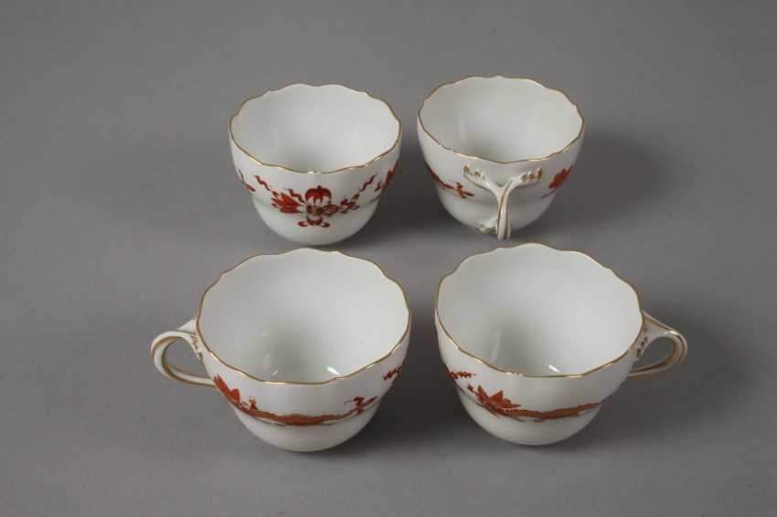 "Meissen coffee service for ""Rich dragon, red"" - photo 5"