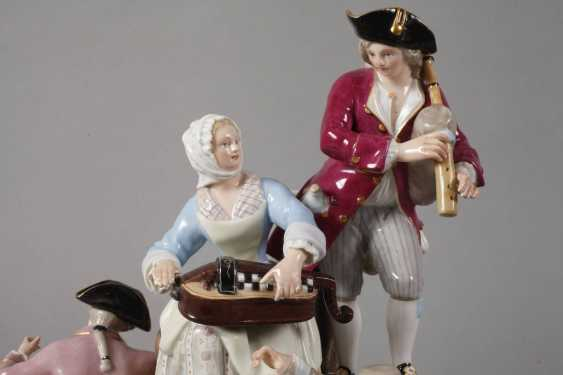 "Meissen ""gardeners group on the tree"" - photo 3"
