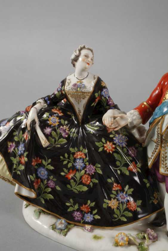 """Meissen """"love group / The Polish kiss on the Hand"""" - photo 3"""
