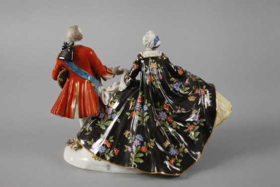 """Meissen """"love group / The Polish kiss on the Hand"""" - photo 4"""