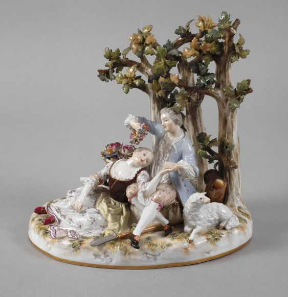 "Meissen ""shepherd group tree"" - photo 1"