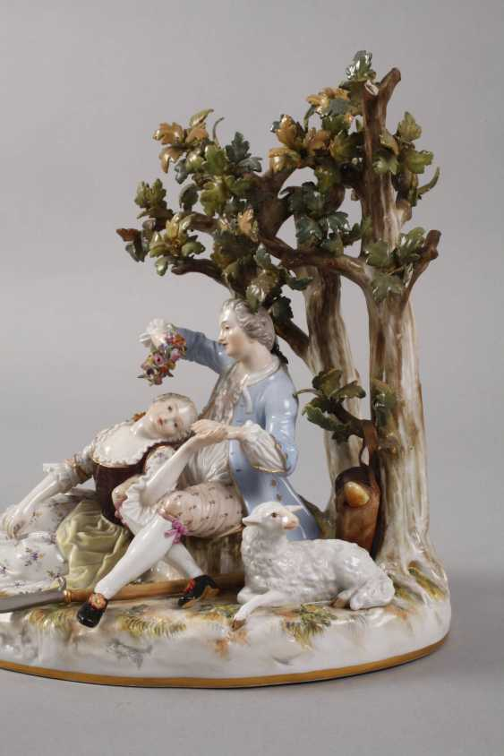 "Meissen ""shepherd group tree"" - photo 2"
