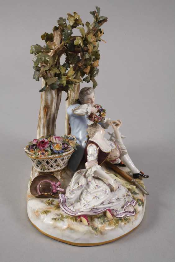 "Meissen ""shepherd group tree"" - photo 4"