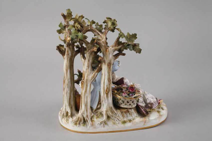 "Meissen ""shepherd group tree"" - photo 5"