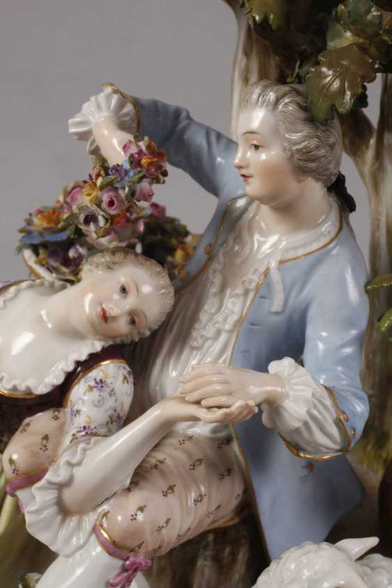 "Meissen ""shepherd group tree"" - photo 8"