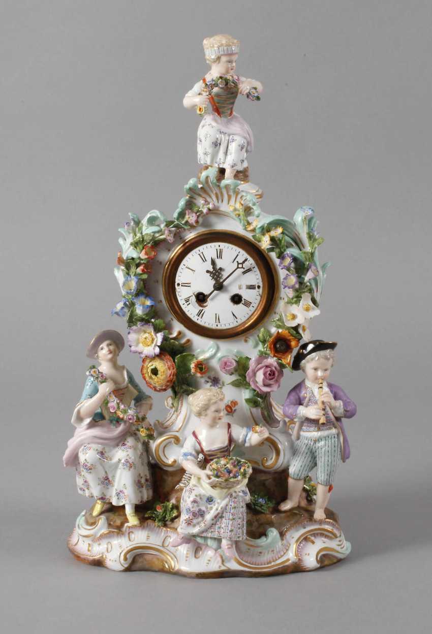 "Meissen ""watch case with gardener figures"" - photo 1"