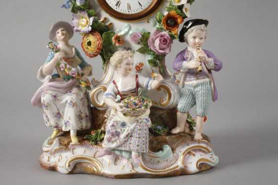 "Meissen ""watch case with gardener figures"" - photo 3"