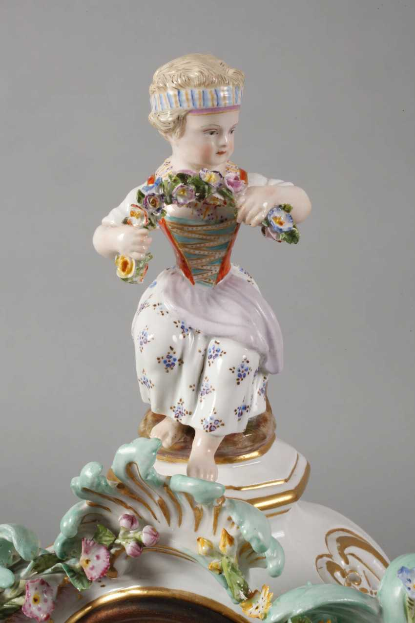 "Meissen ""watch case with gardener figures"" - photo 4"