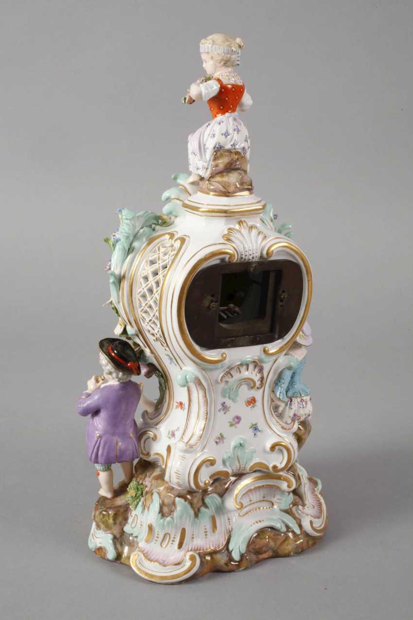 "Meissen ""watch case with gardener figures"" - photo 5"
