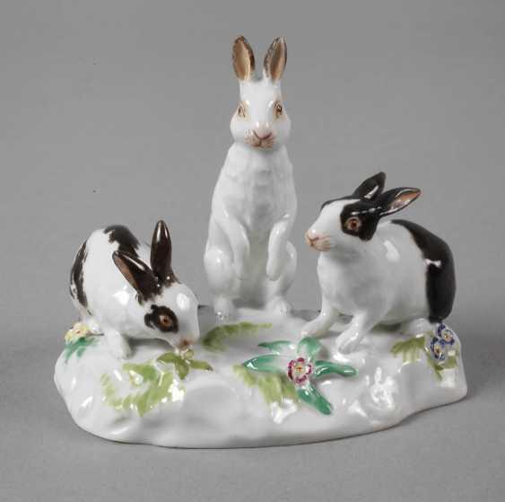 "Meissen ""Rabbit Group"" - photo 1"
