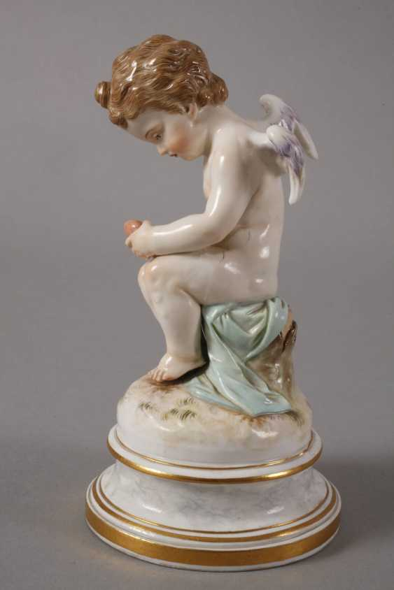 "Meissen ""Cupid, a wounded heart flickend"" - photo 2"
